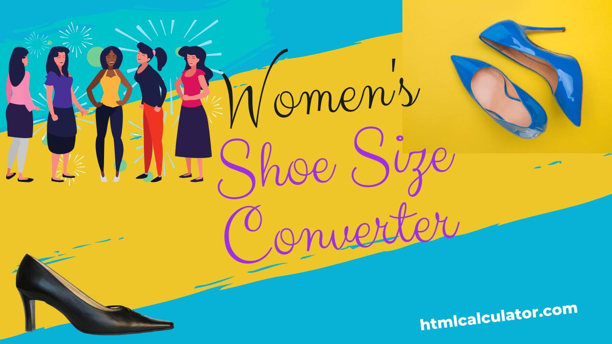 women shoe size converter