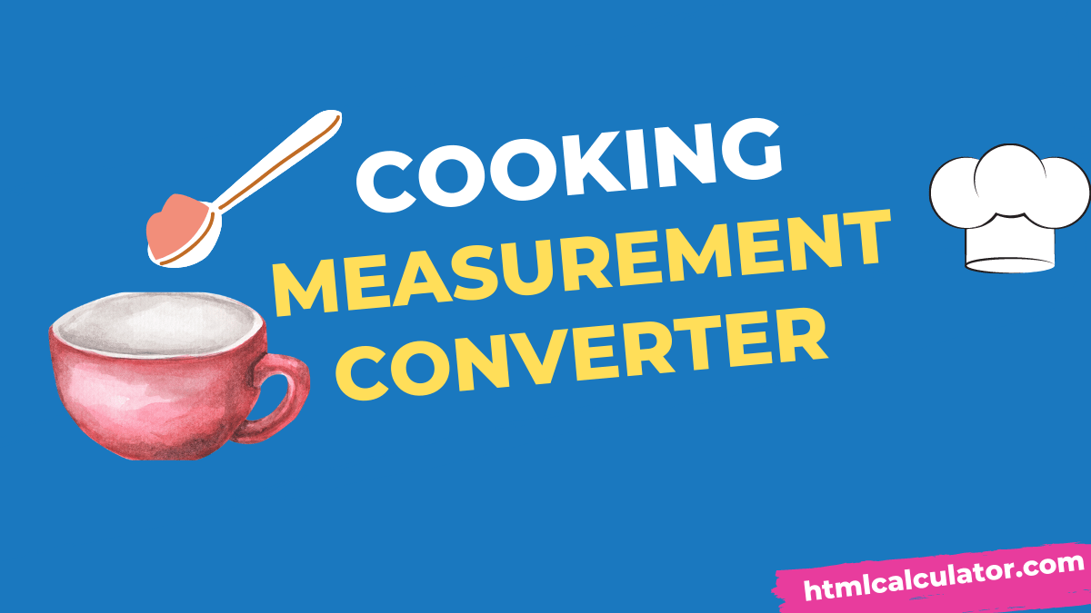 cooking measurement converter