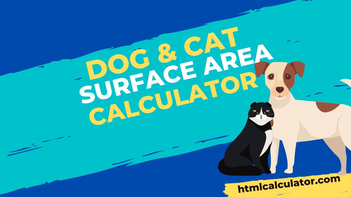 dog & cat body surface area calculator