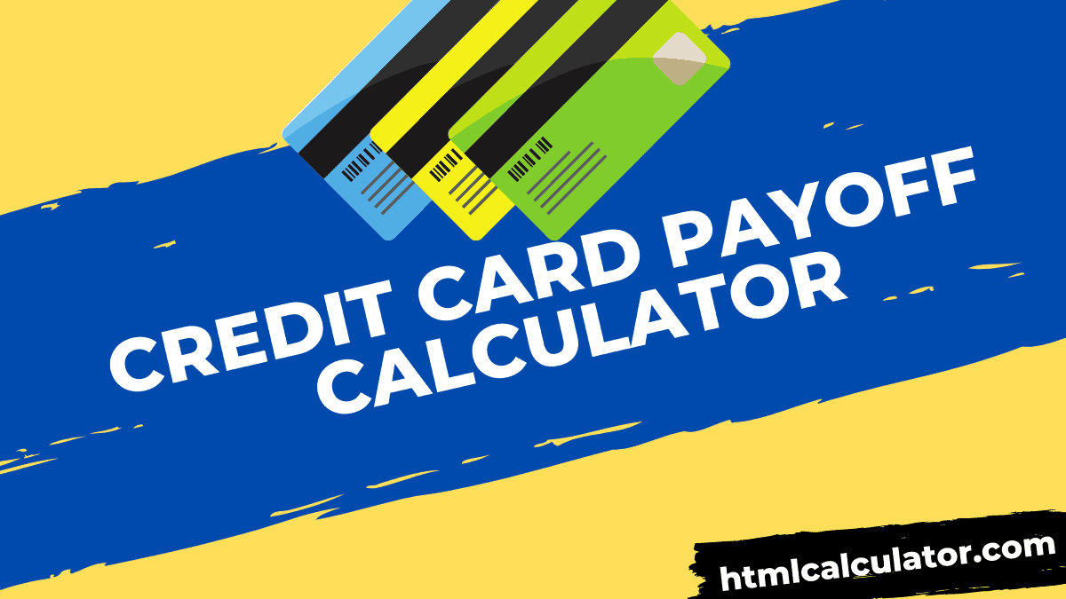 credit card debt payoff Calculator