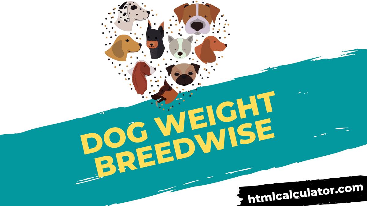dog body weight